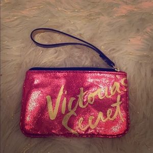 Victoria's Secret change purse.